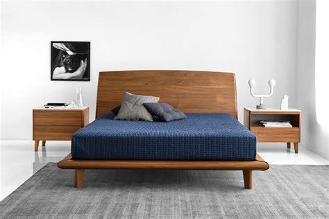 Dixie Modern Wooden Platform Bed