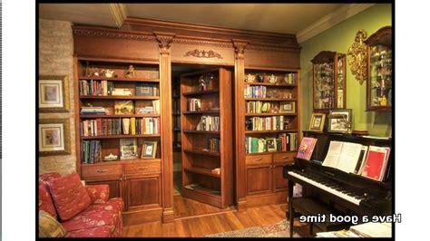 hidden door bookcases