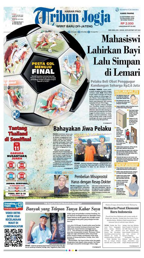 Beli Obat Aborsi 8 Bulan Tribunjogja 14 09 2017 By Tribun Jogja Issuu