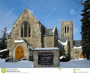 Church In Kitchener  Canada Stock Photo