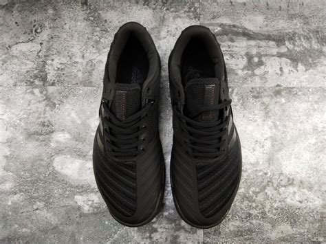 adidas barricade  men tennis shoes triple black cm