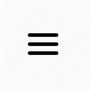 Burger, menu, menu bar, menu burger, mobile menu, tab icon ...