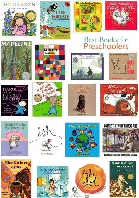 books  preschoolers  thither