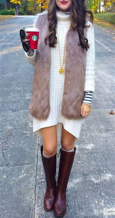 leg l sweater 20 and comfy sweater dress with boots