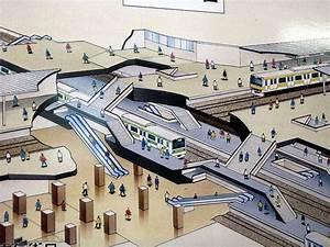 Tokyo Subway Station Diagram  Cut