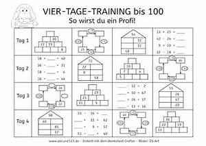 100 Tage Berechnen : vier tage mathe training zahlenraum bis 100 lesen schreiben rechnen pinterest mathe ~ Themetempest.com Abrechnung