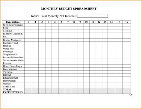 monthly business expense template income and expenses spreadsheet template for small business and monthly budget excel spreadsheet