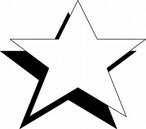 Christmas Star Clip Art Black And White | Clipart Panda ...