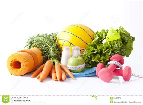 cuisine fitness fitness food and sport activity concept stock photo