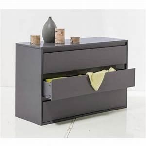 Commode Pas Cher But : commode grise pas cher maison design ~ Teatrodelosmanantiales.com Idées de Décoration