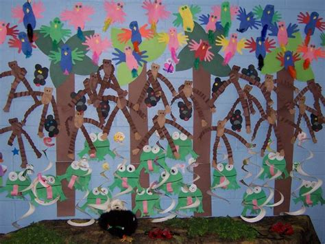 forest preschool theme 32 best images about preschool rainforest on 802