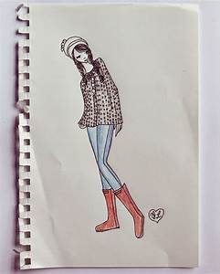 Autumn Clothing Collection Sketches – A Beautiful Mess