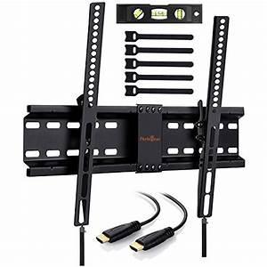 70 Zoll Fernseher : perlegear tv wandhalterung neigbar f r 32 70 zoll fernseher tv halterung h lt bis zu 45kg ~ Whattoseeinmadrid.com Haus und Dekorationen