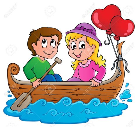 Love Boat Clipart by Boat Clipart Illustration 2542663