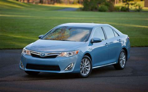 Toyota Camry Blue Wallpaper