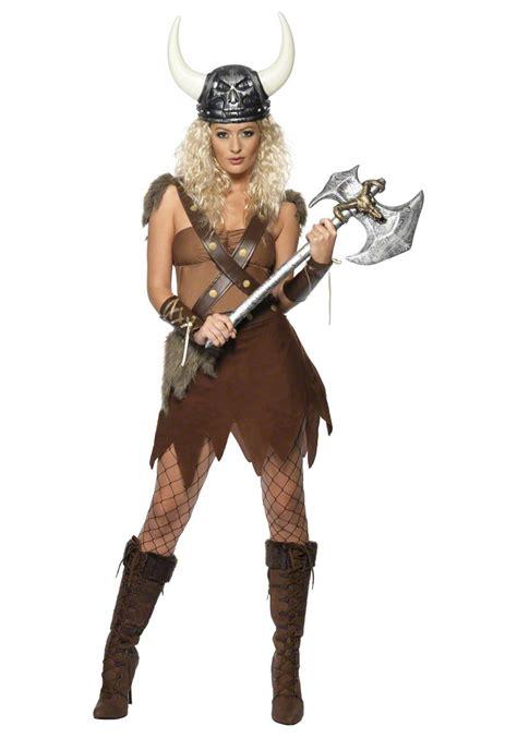 Adult Womens Viking Warrior Costume   eBay