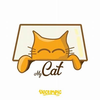 Cat Funny Vector