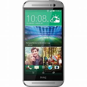 HTC One M8 32GB AT&T Branded Smartphone ONE-M8-US-SILVER B&H