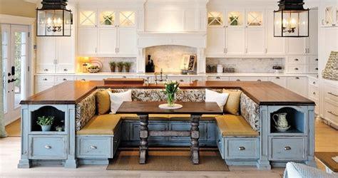 kitchen island  built  seating home design garden