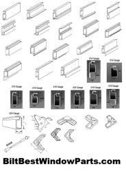 screen frame corners biltbest window parts