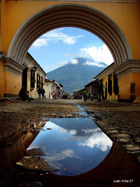 Arch In Antigua Guatemala By Juan Arita On Deviantart