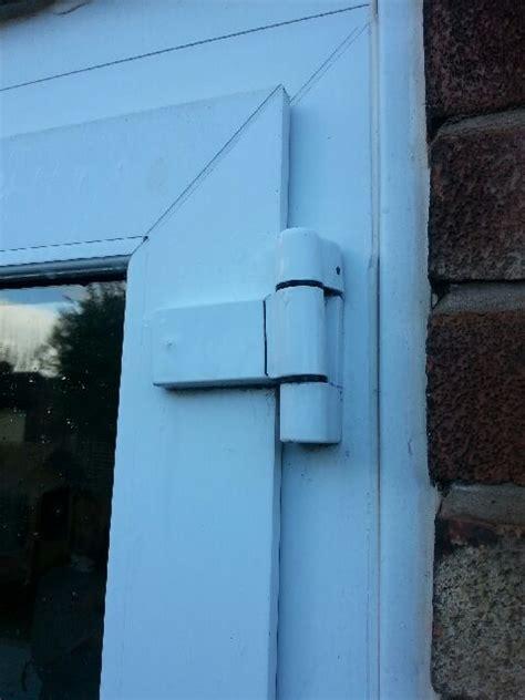 paddock neon flag hinge  upvc double glazing doors