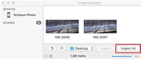 import all photos from iphone to mac how to transfer photos from iphone to mac using image capture