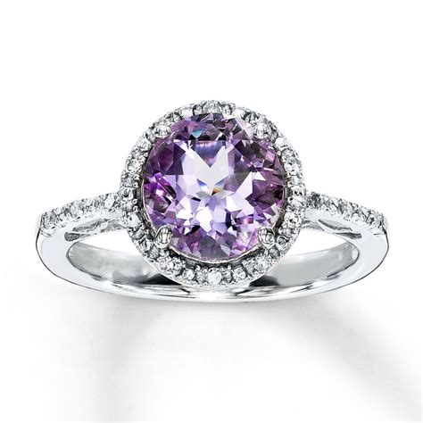 1000+ Images About ★ Amethyst Rings ★ On Pinterest  Halo. Gold Necklace Chains. Price Gold Jewellery. White Lady Watches. Curved Watches. Lion Diamond. Oblong Diamond. Hoop Earrings. 18k Gold Band