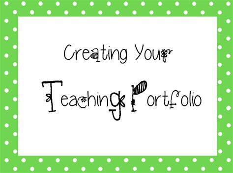 teaching portfolio template pink teaching tips a teaching portfolio