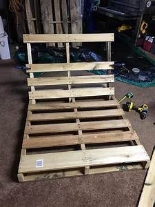 Made A Pallet Lounge Tree Swing   And It U0026 39 S Awesome  In