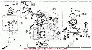 Honda Xl250r 1982 Usa Carburetor 82-83