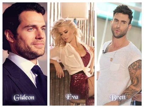 Gideon, Eva and Brett...#crossfire