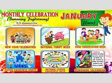 2018 Monthly Celebration with Monthly Motto January