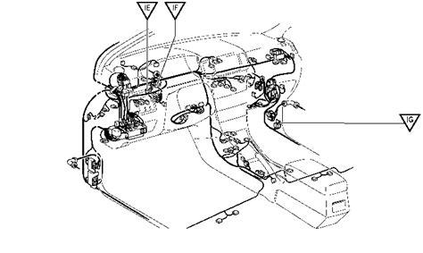 corolla fuel pump relay diagram toyota corolla