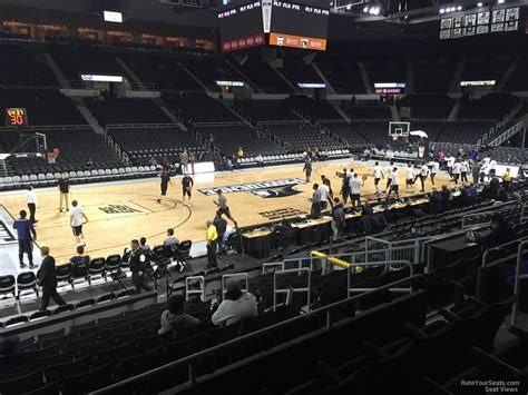 dunkin donuts center section  providence basketball
