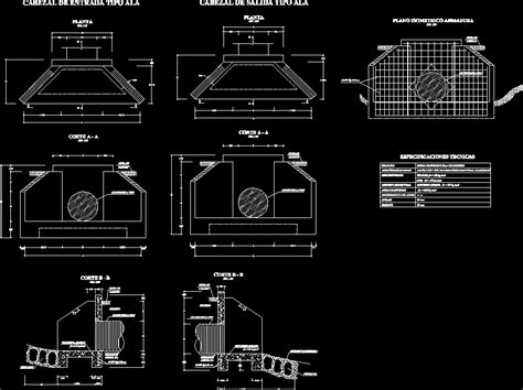 Box Auto Dwg by Culvert Tmc Dwg Block For Autocad Designs Cad