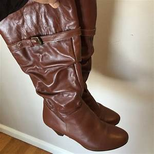 Aldo Shoes Aldo Brown Leather Boots Made In Romania Size