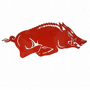 "Arkansas Razorbacks 24"" Red Wall Hanging"
