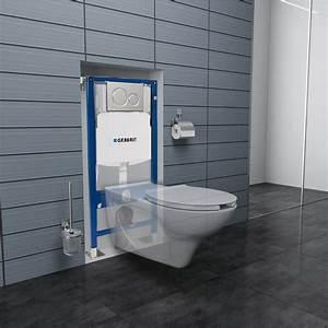 Wc Suspendu Inconvenient : pack wc suspendu geberit pmr pour les personnes mobilit r duite ~ Melissatoandfro.com Idées de Décoration