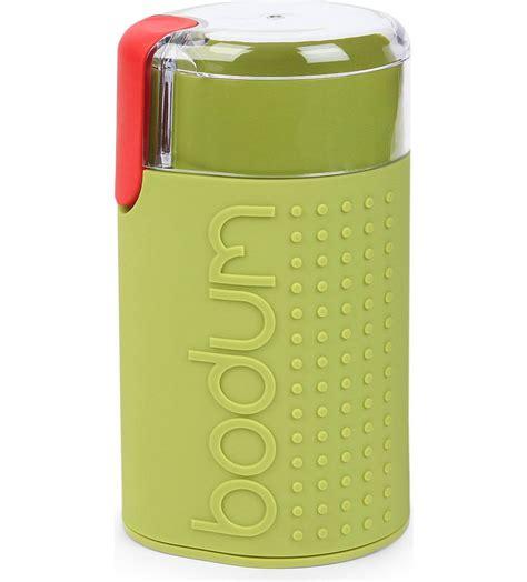 Bodum bistro electric coffee grinder stainless steel red. BODUM - Bistro electric coffee grinder   Selfridges.com ...
