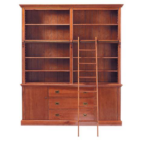 chambre bébé garçon bibliothèque avec échelle en bois massif l 193 cm voyage