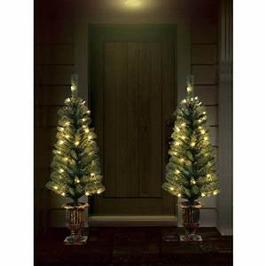 Holiday Time Christmas Decor Pre Lit 2 Pack 3 5