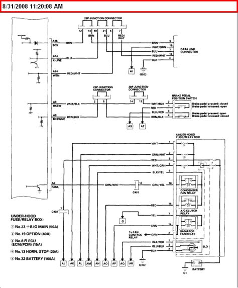 need wiring diagram for an 03 honda accord ex v6 4 door specificlly where they in at the