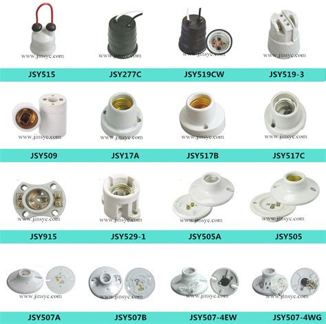 light bulb socket types wholesale waterproof l holder e27 wall l holder