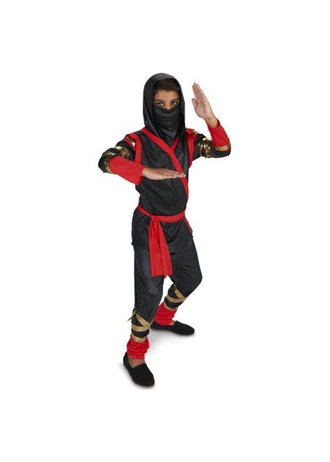 black  red stealth ninja boys costume ninja costumes