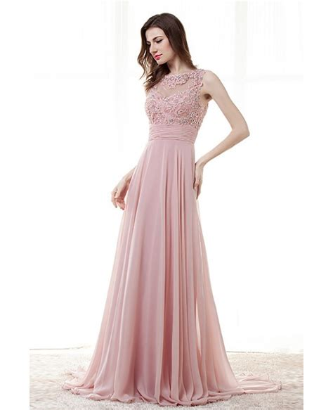light pink prom dresses light pink a line prom dress with lace beading top
