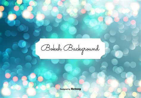 Beautiful Abstract Bokeh Background