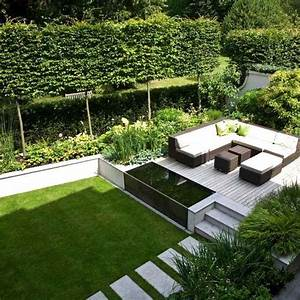 inspirations pinterest deco jardin et terrasse voici With exemple de decoration de jardin 10 travertin dimapco