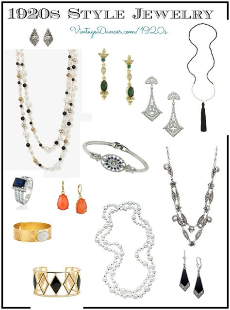 ladies  jewelry styles fashion  flappers