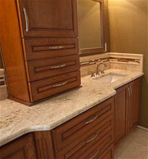master bathroom remodel colonial gold granite countertop